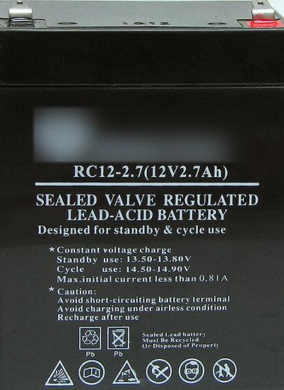 מצבר 12V 2.7Ah