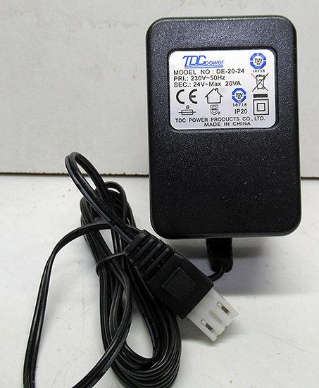 ספק 24 וולט 0.83 אמפר AC פלג גלקון או רגיל