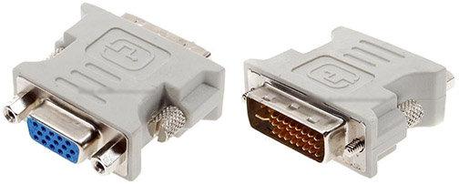 מעביר VGA נ. ל DVI ז.