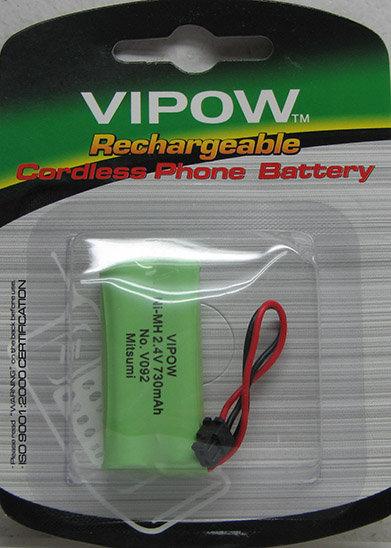 סוללת 2xAAA 105 לפנסוניק V092 - ויפו
