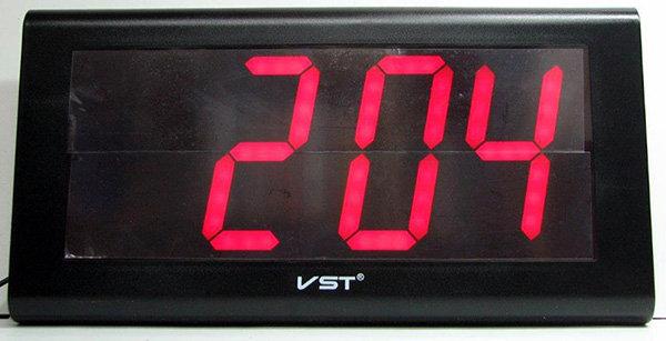 שעון חשמל ספרות 3.9 אינץ