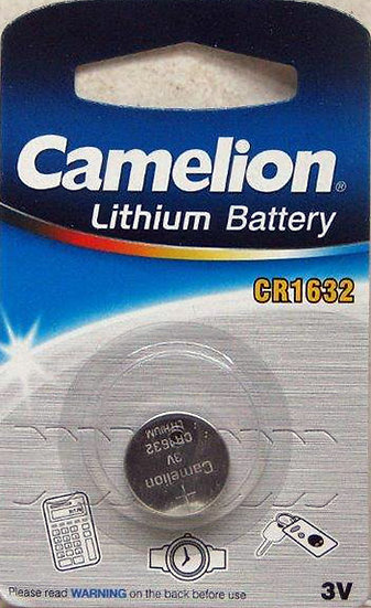 סוללת ליטיום - קמיליון 1632