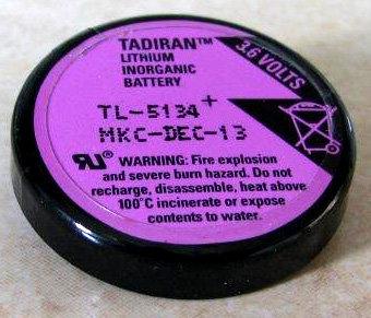 סוללת ליטיום - תדיראן TL5134