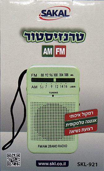 טרנזיטור אנלוגי AM FM בקופסא