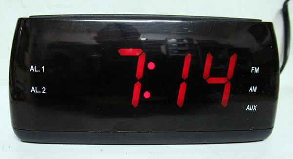 רדיו שעון ספרות 1.2 אינץ