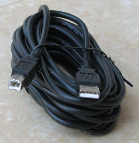 כבל USB AM ל- BM באורך 2 מטר