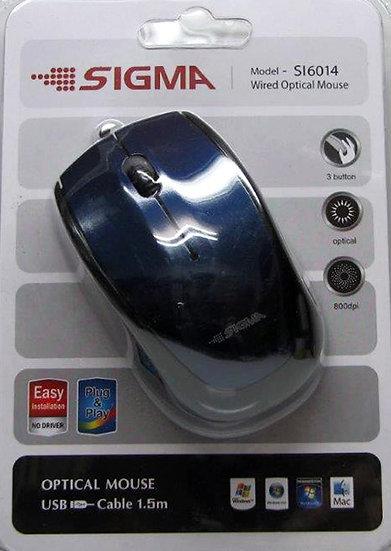 עכבר USB אופטי 6022 - סיגמה