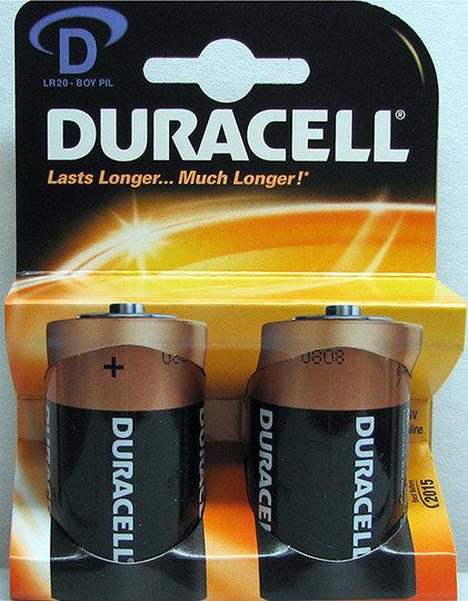 זוג סוללות D - דורסל