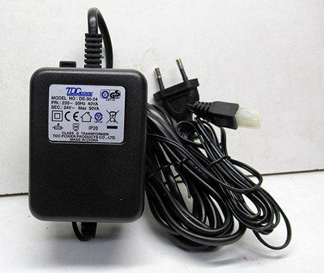 ספק 24 וולט 1.25 אמפר AC שולחני פלג גלקון או רגיל