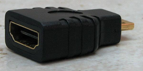 מעביר מ HDMI ל HDMI מיקרו