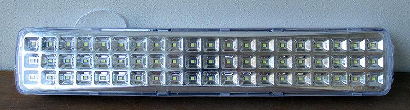 תאורת חירום קבועה 60 לד 400 לומן 3.7 וולט
