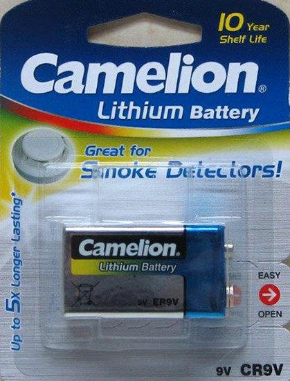 סוללת ליטיום 9V 1.2Ah - קמיליון