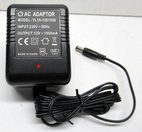ספק AC 12V 1.5A