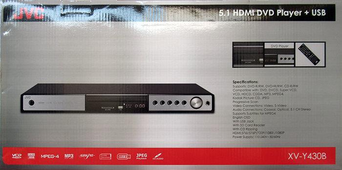 מכשיר DVD שולחני - JVC