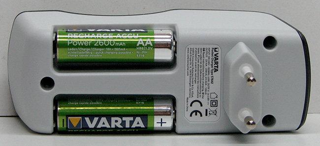 מטען ורטא כולל 4xAA2600