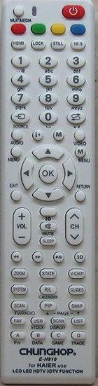 שלט תחליפי לטלויזיה האייר H910