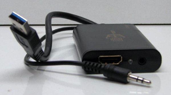מתאם מכניסת USB3 ליציאת HDMI