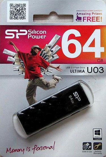 דיסק און קי 64G - סיליקון פאוור