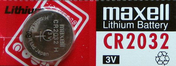 סוללת ליטיום 3V - מקסל - 2032