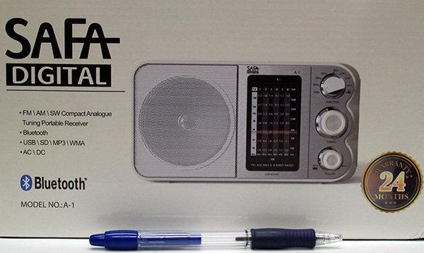 רדיו אנלוגי עם כניסות ובלוטוס