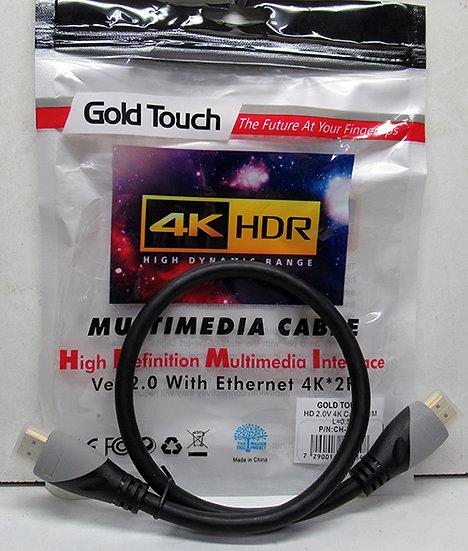 כבל HDMI 0.5 מטר