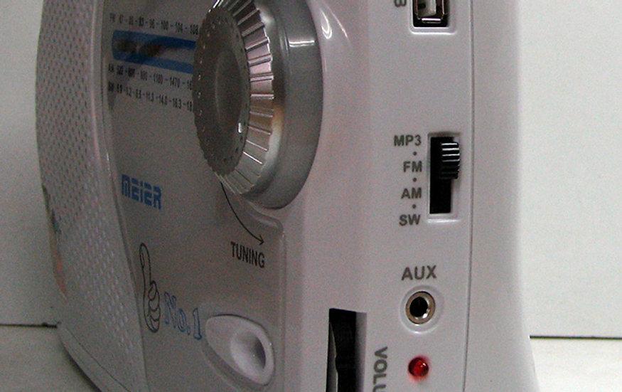 רדיו ביתי עם כניסות TF, USB ובלוטוס