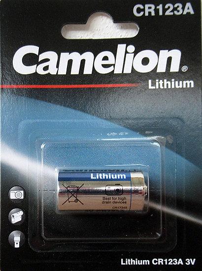 סוללת ליטיום CR123-3V - קמיליון
