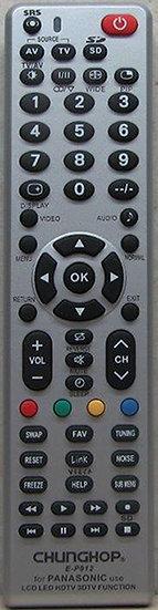 שלט תחליפי לטלויזיה פנסוניק P912