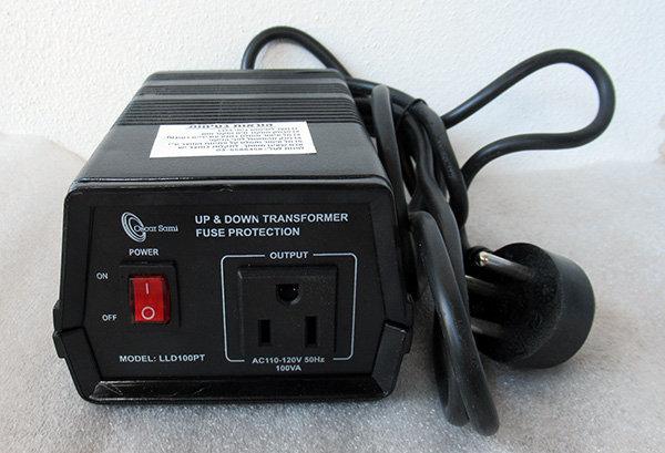 ממיר עם הארקה 110V 220V 100 וואט