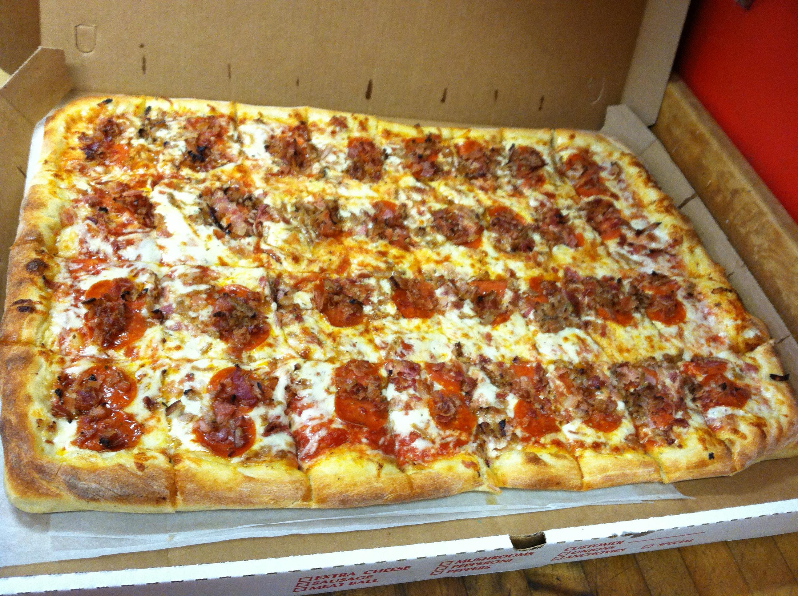 Sheet Pizza