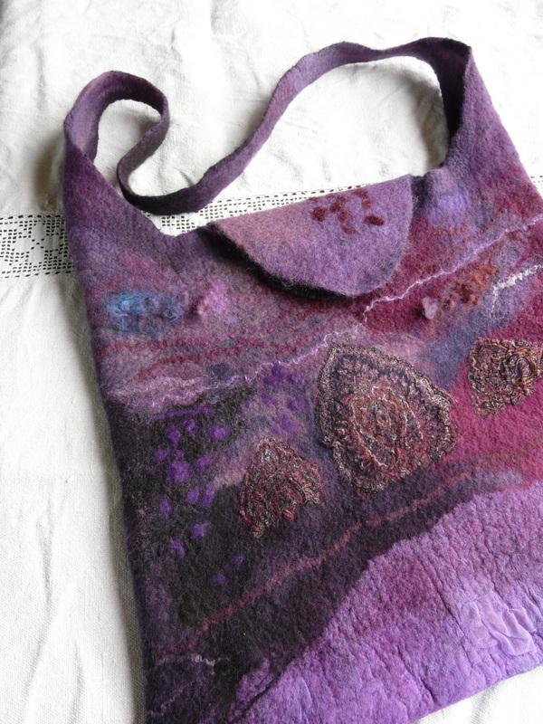 Lila táska