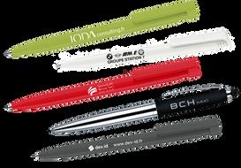 Divers stylos