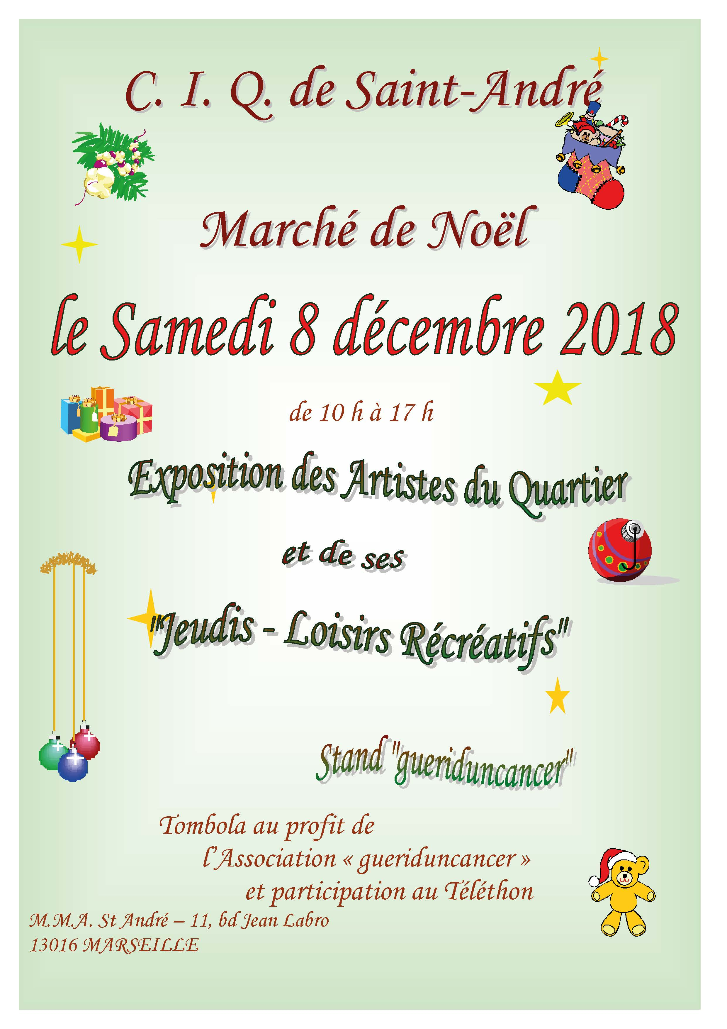 Marché de Noel 2018