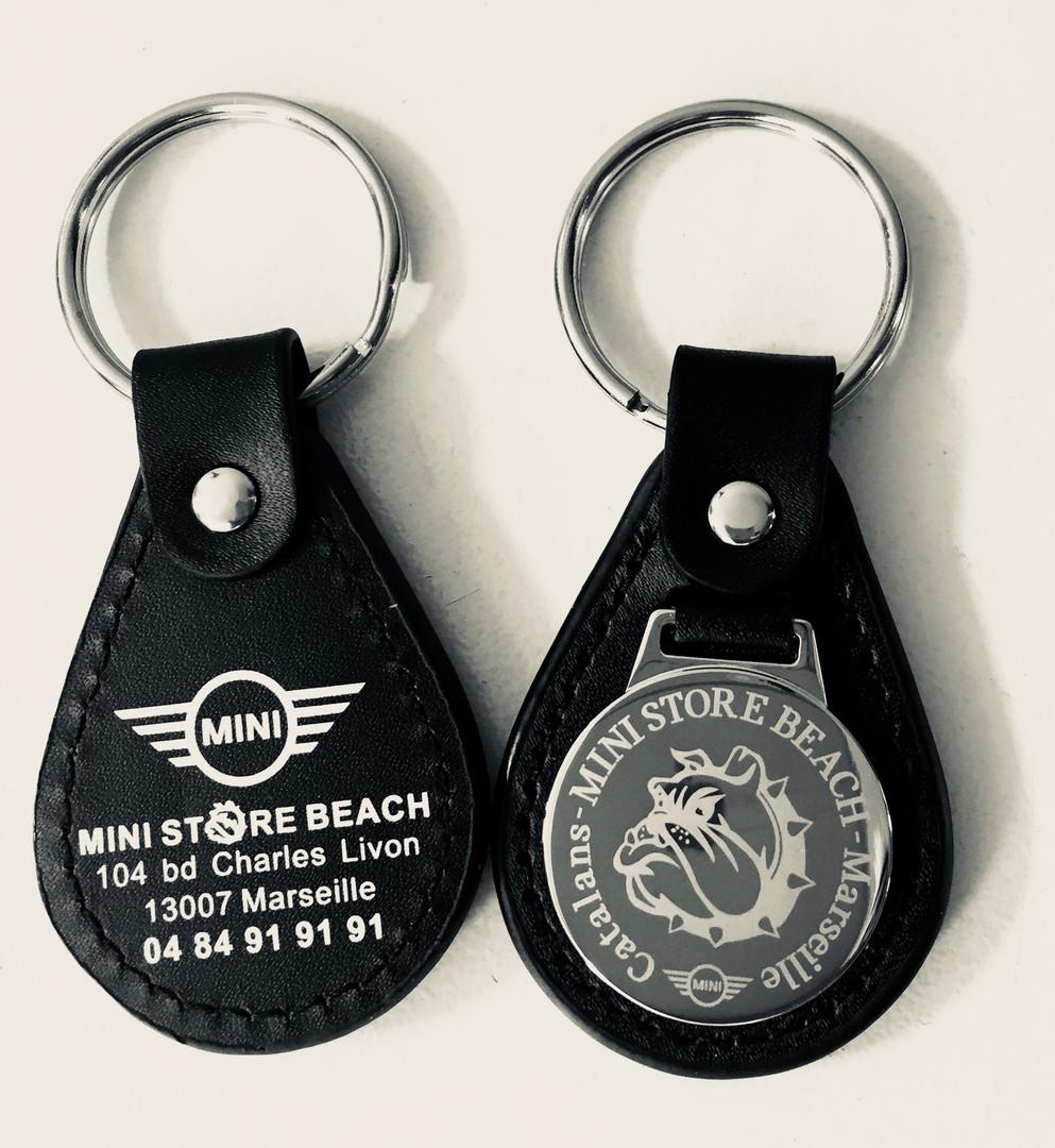 Porte-clés Cuir MINI