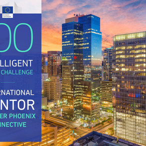 Greater Phoenix Connective Selected as the First U.S. 'Intelligent Cities' Mentor to E.U. Cities