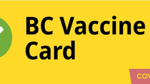 Proof of vaccination and ID card with photo REQUIRED