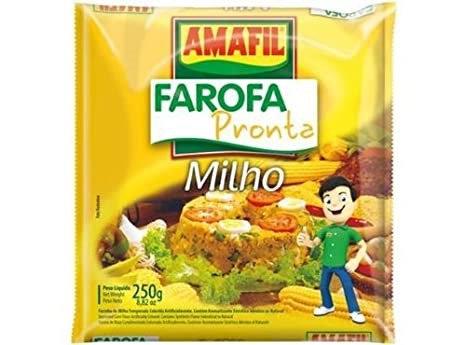 Farofa de Milho 250g