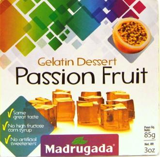 Gelatina de Maracujá 85g