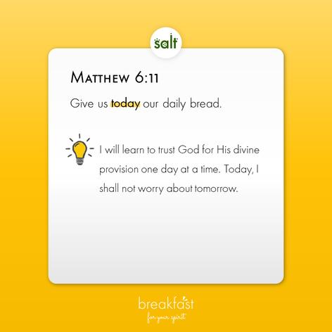 Matthew 6:11