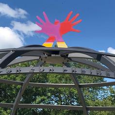 Garuda Mudra, Freiheitssymbol