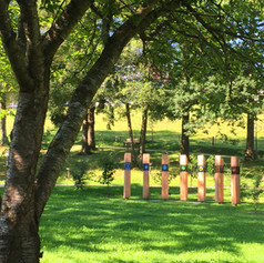 Installation im Kurpark Bad Grönenbach
