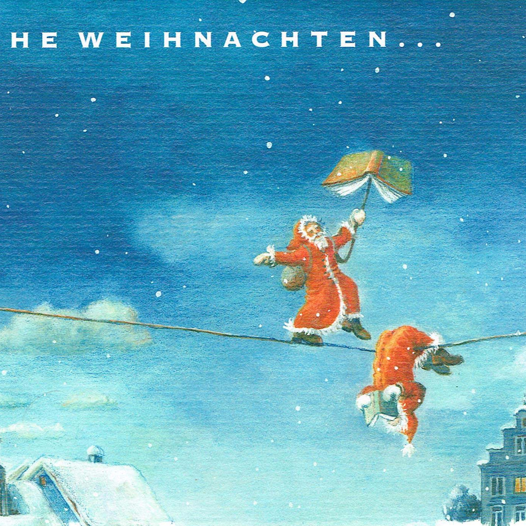 Postkarte Seiltaenzer