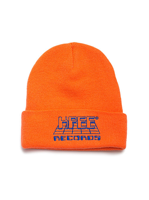 RECORDS BEANIE ORANGE