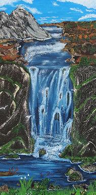 Air pur huile mixte sur toile galerie 15
