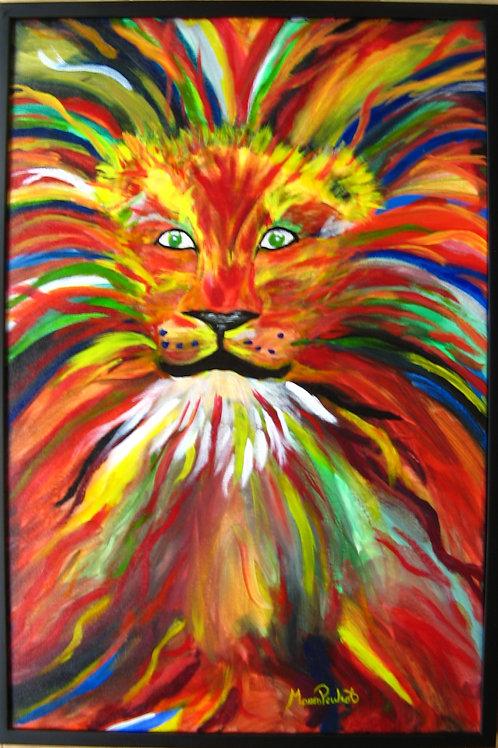 Lion magique