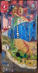souvenirs 15x30 huile sur toile  galerie