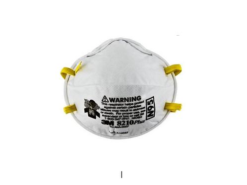 3M Particulate Respirator 8210Plus, N95