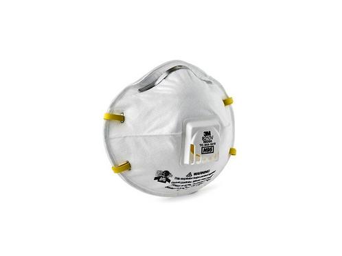 3M Particulate Respirator 8210V, N95