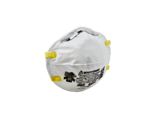3M Particulate Respirator 8210, N95 (cases of 160)