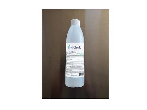 2PROTEKU 8oz Alcohol Antiseptic 80% Hand Sanitizer